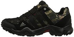 adidas Outdoor AX2 Hiking Shoe - Men\'s Camo Earth Green/Black/University Red 12