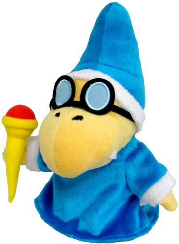 "Little Buddy Toys Nintendo Magikoopa 7"" Plush - 1"