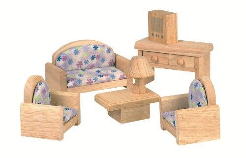 Imagen de Toy Plan de Doll House Living Room - Estilo clásico, los colores pueden variar