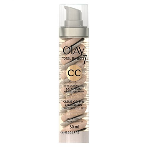 Olay CC Cream, Total Effects Tone Correcting Moisturizer with Sunscreen, Light to Medium 1.7 fl. oz. (Wrinkle Cream Olay compare prices)