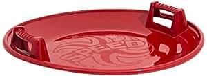 Snow glider round plastic UFO sledge 66 cm diameter, 2 colors available