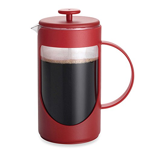 BonJour Ami-Matin 8-Cup Unbreakable French Press in Red (Bonjour French Press Parts compare prices)