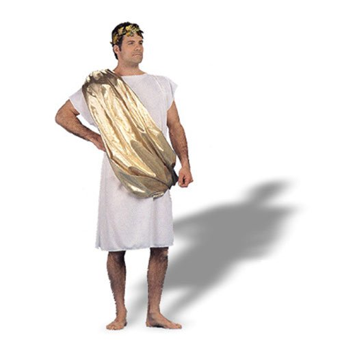 Greek and Roman Toga Adult Mens Halloween Costume