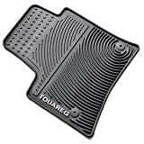 OEM VW Touareg All Weather Rubber Floor Mats Round