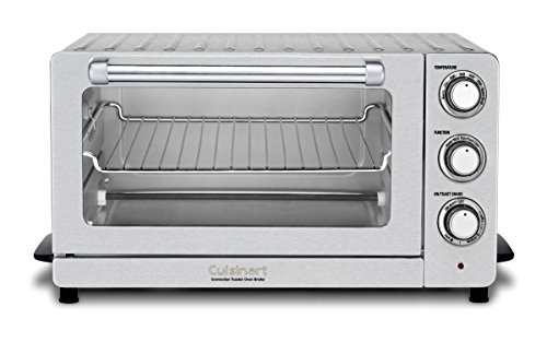 Cuisinart TOB-60N1 Toaster Oven Broiler with Convection, Stainless Steel (Cuisinart Broiler Toaster Oven compare prices)