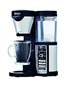 Amazon.com: Ninja Coffee Maker, Bar Brewer Style with 4 Brew Size Options, From Single Cup to 10 ...