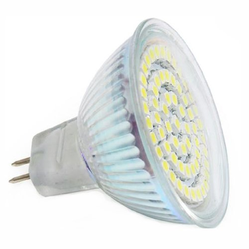 Generic Ac 220~240V 3.5W Mr16 Led Lamps With 60 Beads For Hotels Indooor Shops Size 3.1X3.1X3.1 Color White