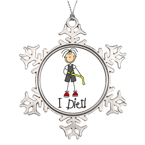 Little devil Exercise Diet Personalised Christmas Tree Decoration Christmas Trees Decoration (Diet Devil compare prices)