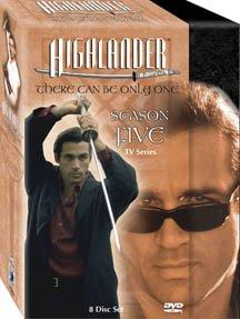 Highlander: Season 5 - Series [DVD] [Region 1] [US Import] [NTSC]