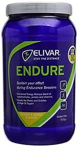 Elivar 900g Orange and Mango Flavour Endure Sustained Energy Drink Mix