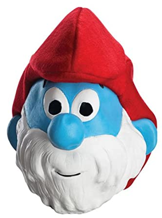 Smurfs Movie Papa Smurf Mask