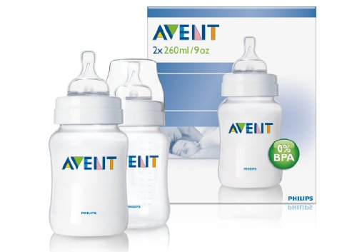 Philips AVENT Feeding bottle SCF683/27 2 Classic 9oz Slow Flow Nipple