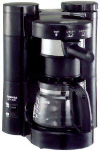 TOSHIBA エスプレッソコーヒーメーカー ブラック HCP-A3M(K)
