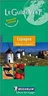 Espagne - Bal�ares et Canaries par Michelin