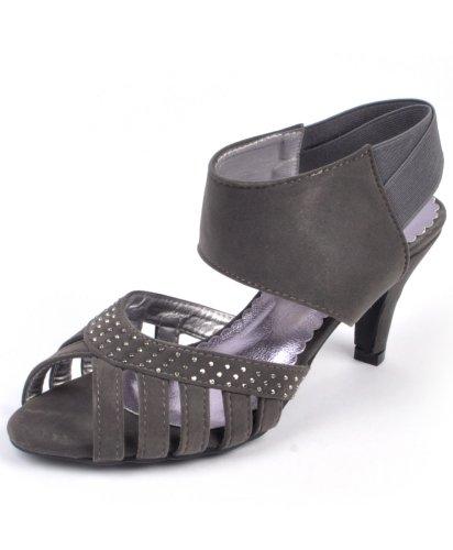Women'S Nollia Platform High Heel Shoes (8, Gray)