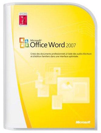 Microsoft Word 2007  French (vf) Version Upgrade