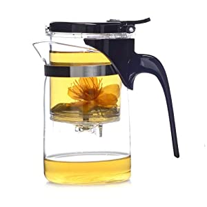 380ml SAMA A04 fashion chinese convenient piaoyi bei office glass tea cup teapot from SAMA
