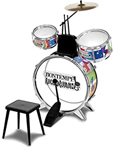 Bontempi Rock Drummer Drum Set with Stool