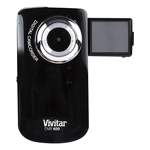Vivitar DVR620-GRP Ultimate Selfie Digital Camera 5 MP with 1.8-Inch TFT LCD, Colors May Vary