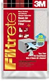 3M Filtrete Air Conditioner Filter, 15-Inch by 24-Inch (9808-12)