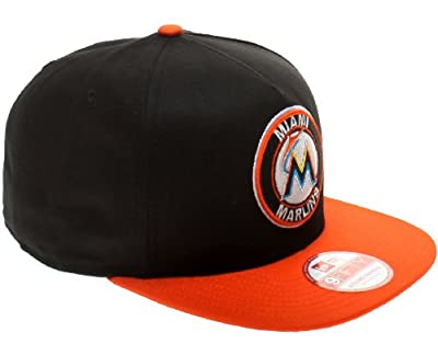 New Era 9Fifty A Frame Miami Marlins Mens Snapback Hat