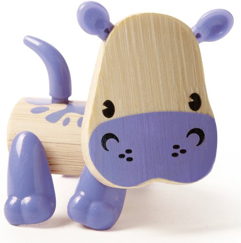Hape Mini-mals Hippo Bamboo Play Figure