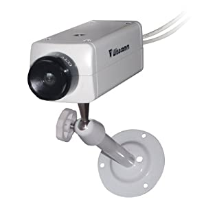 Wisecomm DU511 Simulated Indoor Security Camera - Small (White)
