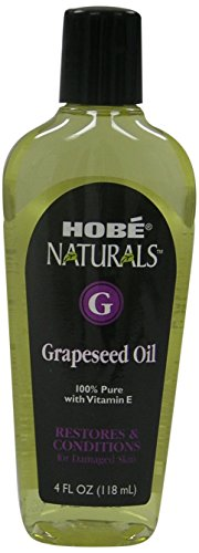 Hobe Naturals Grapeseed Oil, 4-Fluid Ounce (Pack of 3) (Hobe Naturals compare prices)