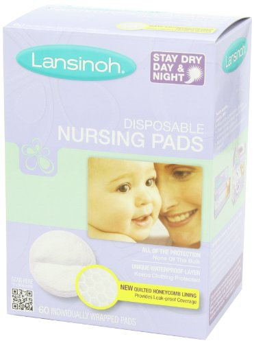 Lansinoh Disposable Nursing Pads 60 Count Box