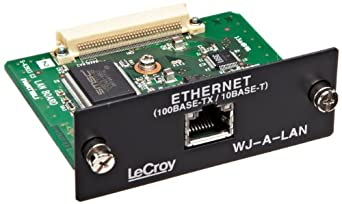 LeCroy WJ-A-LAN 10/100 Base-T Ethernet Interface for WaveJet 300A Oscilloscopes