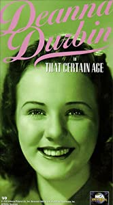 That Certain Age [VHS]