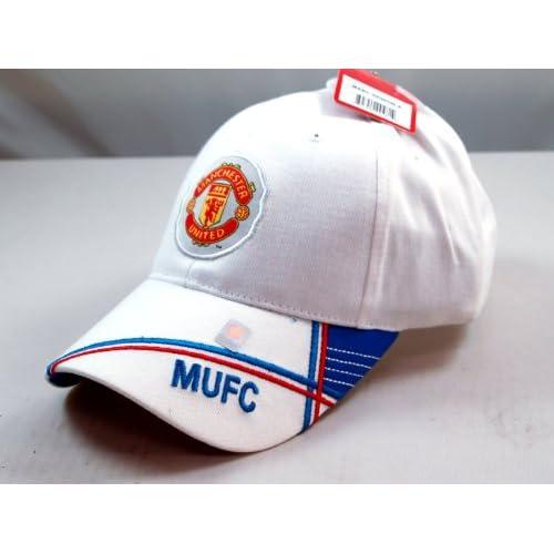 FC MANCHESTER UNITED OFFICIAL TEAM LOGO CAP / HAT   MU022