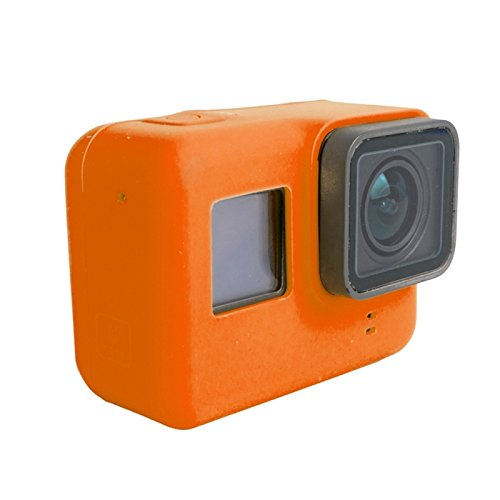 KDTD Silicone Housing Protective Case Cover Shell for GoPro HERO5(Orange) (Go Pro Hero 4 White Accesories compare prices)