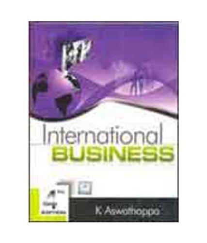 international business k aswathappa pdf
