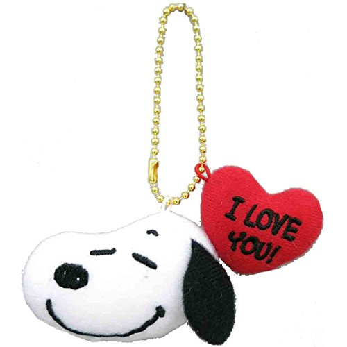 PEANUTS I LOVE YOU! SNOOPY キーチェーンマスコット 674540