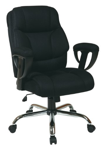 Work Smart Executive Big Mans Chair  Mesh Seat
