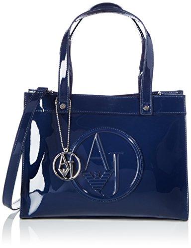 Armani Jeans Shoes & Bags De - 0520Arj, Acquirente da donna, blu (blu - blue 50), 30x23x12 cm (B x H x T)