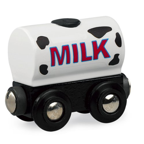 BRIO 33547 Wooden Railway System: Milk Wagon
