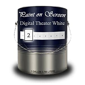 paint on screen projector screen paint digital theater