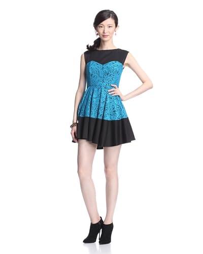 Eva Franco Women's Oliver Fit-and-Flare Dress