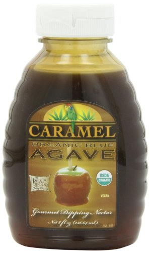 Funfresh Foods Organic Caramel Agave Nectar, Blue, 8 Ounce (Organic Caramel Sauce compare prices)