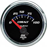 Auto Meter 6127 Cobalt Short Sweep Electric Oil Pressure Gauge