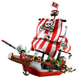 LEGO 4Juniors 7075: Captain Redbeard's Pirate Ship