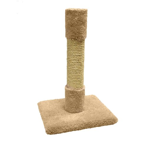 North American Pet Products Decorator Cat Post, 26-Inch front-542873