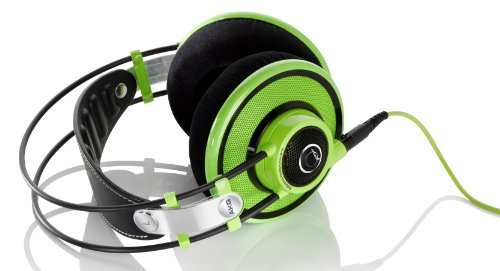 Akg Q 701 Quincy Jones Signature Reference-Class Premium Headphones, Lime