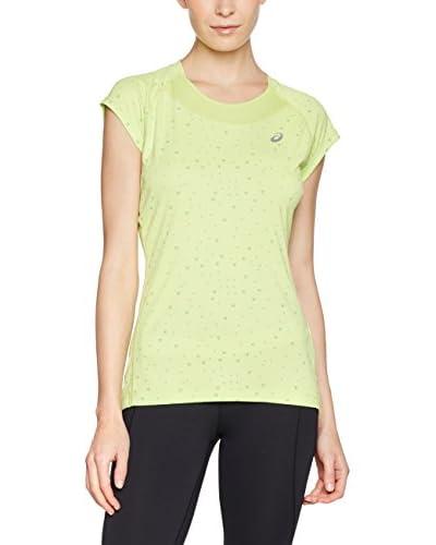 Asics T-Shirt Capsleeve hellgrün