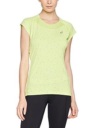 Asics Camiseta Manga Corta Capsleeve (Verde Claro)