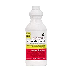 Sunnyside Corporation 71032 1 Quart Muriatic Acid Household Paint Solvents