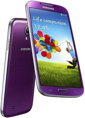 41SQbSRld7L Samsung Galaxy S4 Mini GT i9192 Purple Factory Unlocked Dual Sim Android Phone