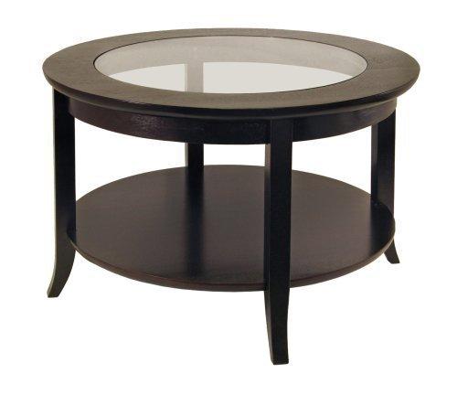 Winsome Wood Round Coffee Table, Espresso (Espresso Round Coffee compare prices)